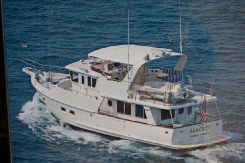 2003 Selene 48 Trawler 48' Selene underway