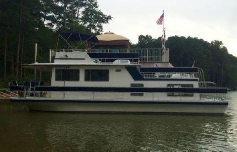 1984 Gibson Houseboat 42