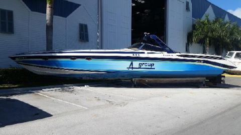 1989 Wellcraft 50 Scarab Meteor 5000 Port Profile