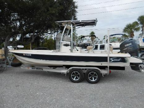 2008 Scout 240 Bay Scout