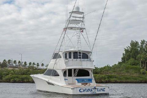 2012 Viking 70 Enclosed Bridge China Time