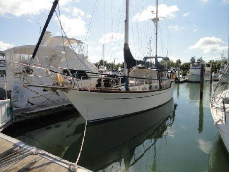 1986 Nauticat 44 Motorsailer Profile