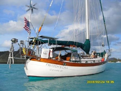 1986 Hans Christian 43t Cutter Freedom's Call