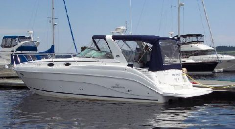 2006 Rinker 342 Express Cruiser Port Profile