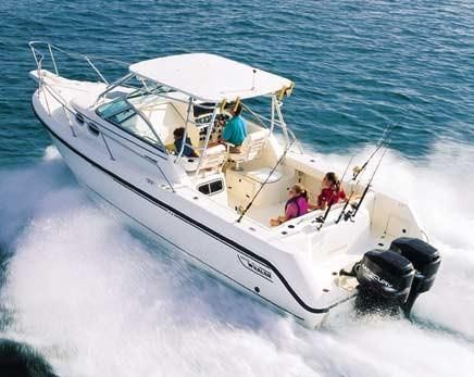 2002 Boston Whaler 295 Conquest Manufacturer Provided Image: 295 Conquest