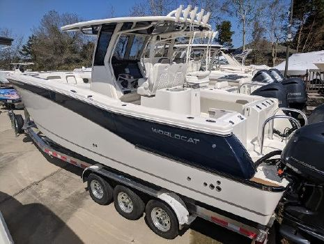 2018 World Cat 280 Center Console