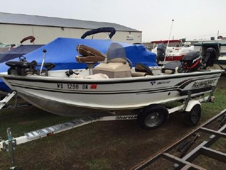 2002 Alumacraft Lunker 165 LTD CS
