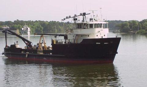 1968 Ziegler Shipyards Research Boat