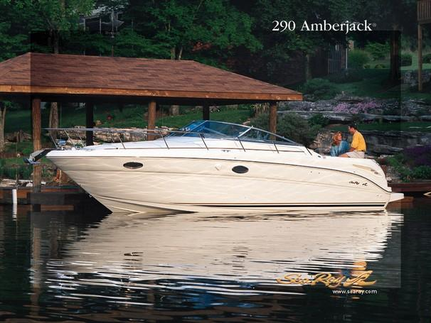 2002 Sea Ray 290 Amberjack Manufacturer Provided Image