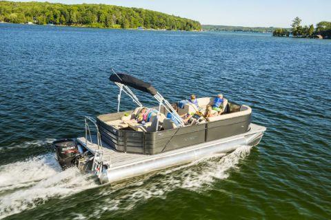 2017 Crest Pontoon Boats Crest I 220 SLC