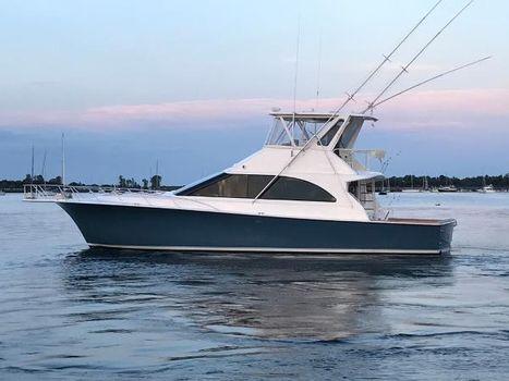1998 Ocean Yachts 48 Super Sport Port Side