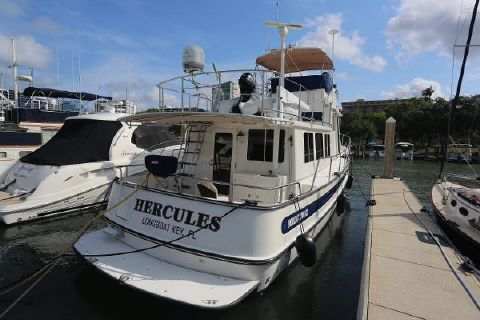 2008 Nordic Tugs 42 Flybridge Profile