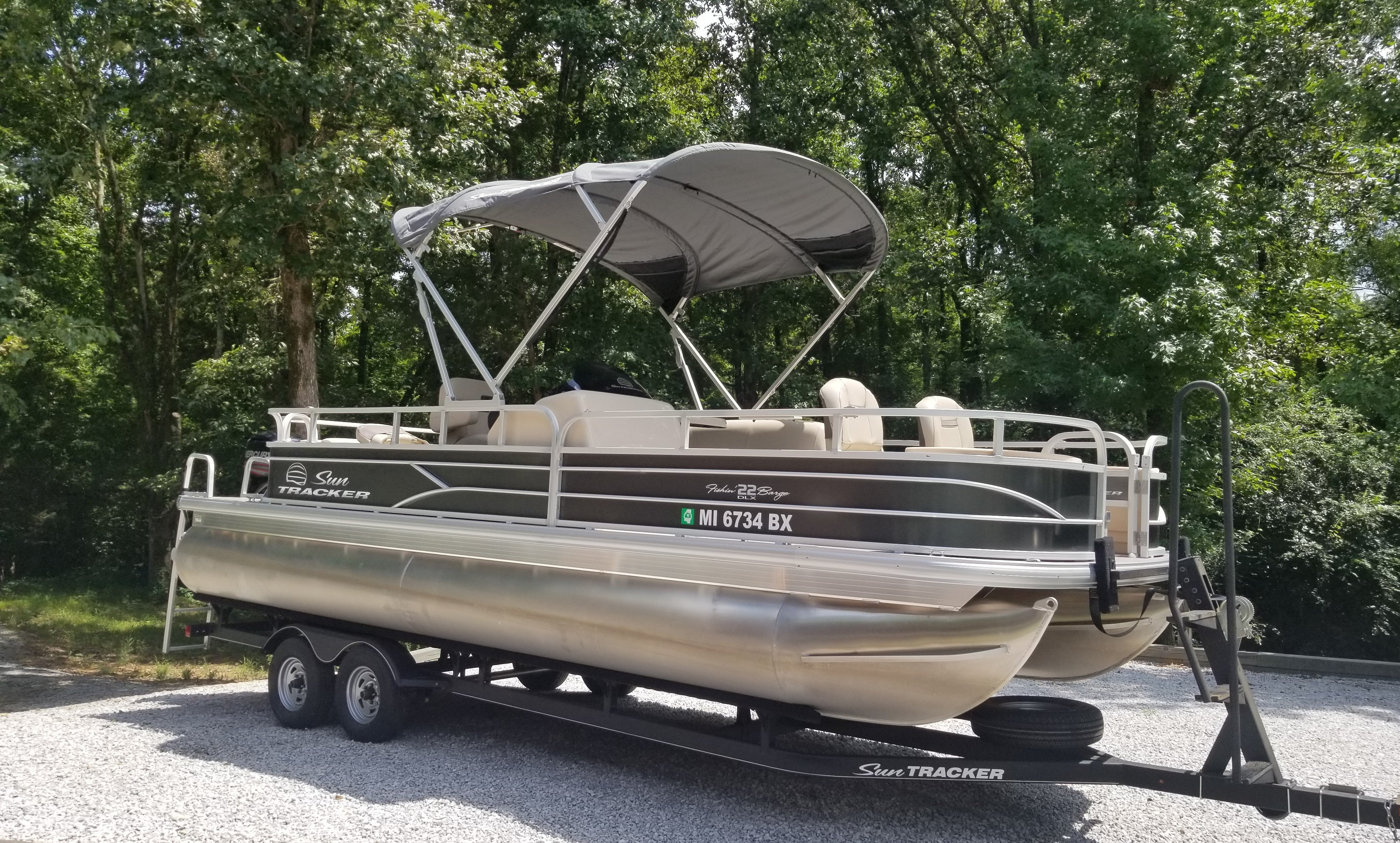 Check out this 2017 TRACKER Fishing Barge on Boattrader com