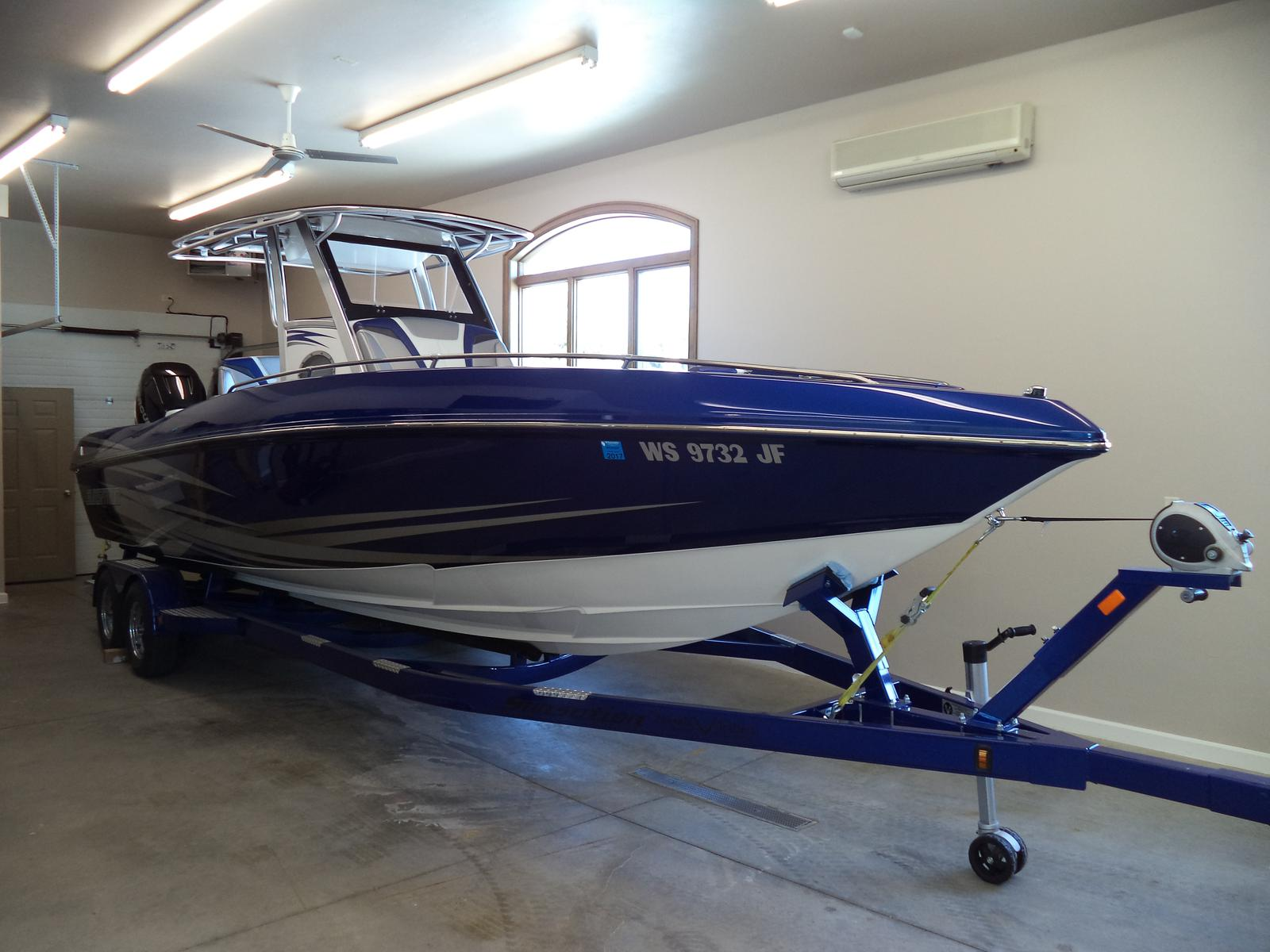 2015 sunsation 29 ccx 29 foot 2015 motor boat in green for Green boat and motor