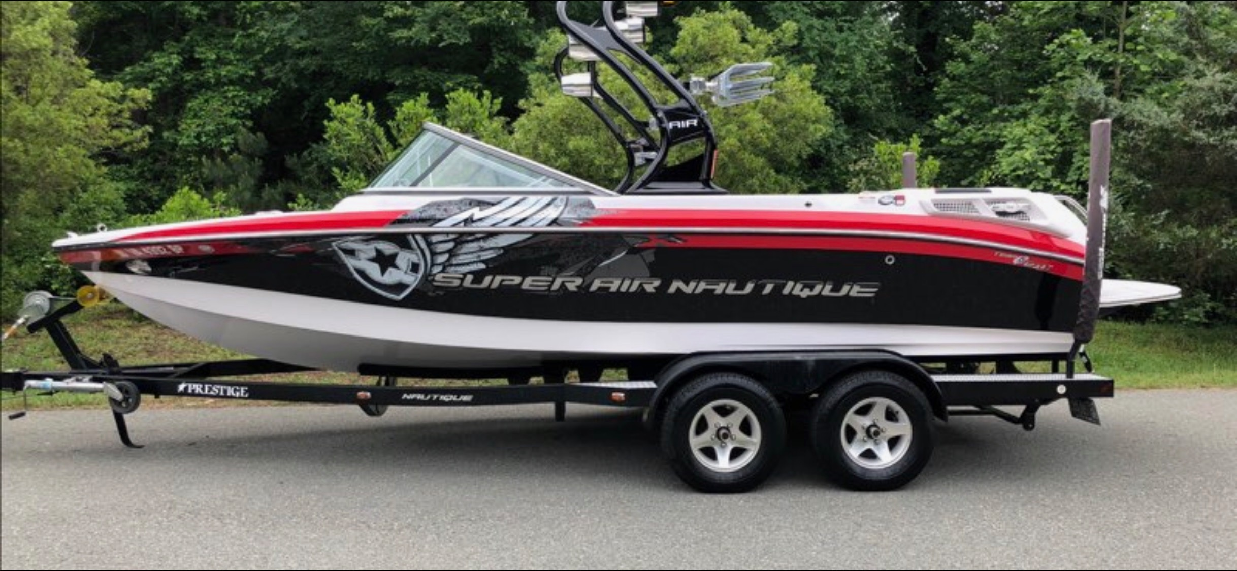 Check out this 2009 NAUTIQUE 210 Super Air Team Edition on Boattrader com