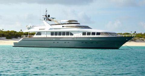 1991 Trinity Yachts 115' Trinity Motor Yacht WATERCOLOURS