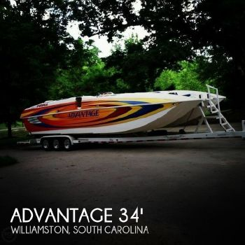 2006 Advantage Boats 34 Party Cat 2006 Advantage 34 Party Cat for sale in Williamston, SC