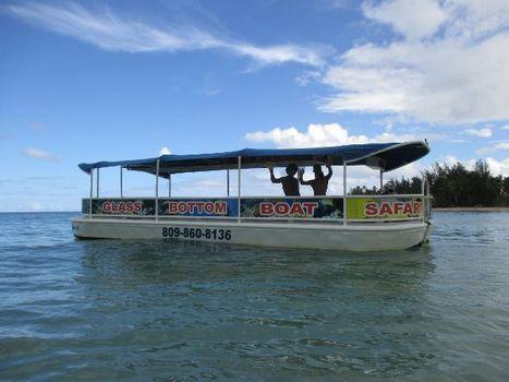 1966 DELHI MFG. OF LOUISIANA Glass Bottom Tour Boats