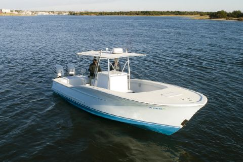 2013 OBX Custom Carolina Center Console