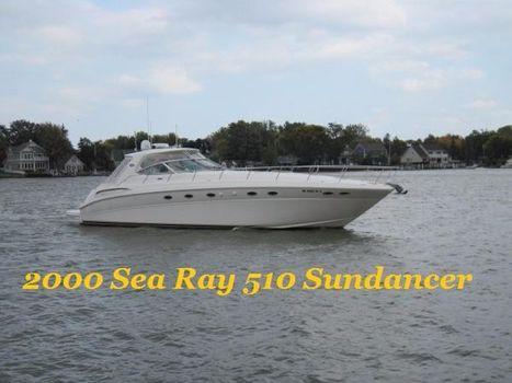 2000 Sea Ray 510 Sundancer