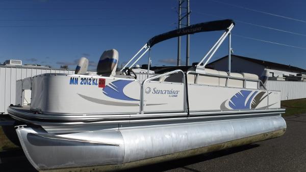 Fishing Pontoon Boats For Sale >> Used 2008 Lowe Ss204 Fishing Pontoon Clearwater Mn 55320
