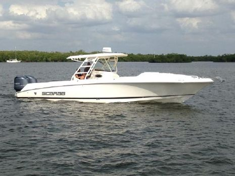 2012 Wellcraft 35 Scarab Offshore Sport