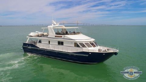 2009 Custom Boundless Flybridge Motoryacht