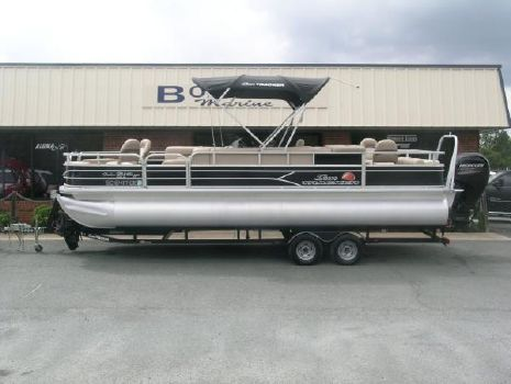 2016 SUN TRACKER Fishing Barge 24 DLX