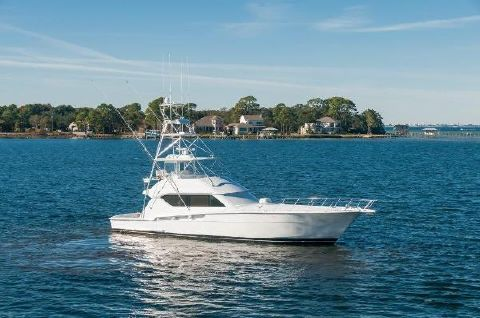 2001 Hatteras 60 Convertible Profile