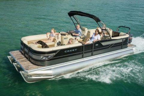2017 Crest Pontoon Boats Classic 230 SLR2 Manufacturer Provided Image