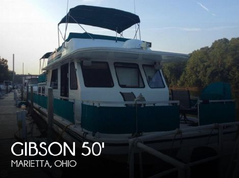 1996 Gibson 50 x 14 5000 Series Cabin Yachts 1996 Gibson 50 x 14 5000 Series Cabin Yachts for sale in Marietta, OH