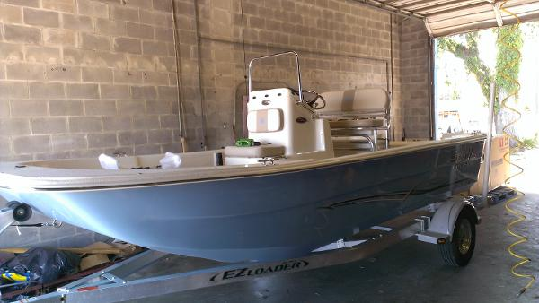 2014 Carolina Skiff 1980 DLX Tunnel