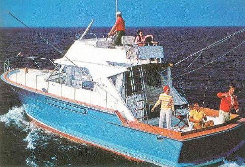 1969 Chris-Craft Commander Sport Cruiser