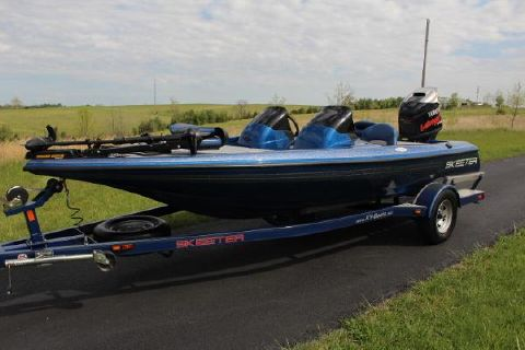 2008 Skeeter SX190 with only 24 hours
