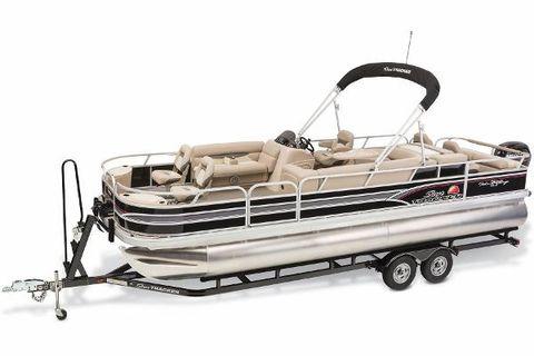 2015 Sun Tracker Fishin' Barge 24 DLX 150HP