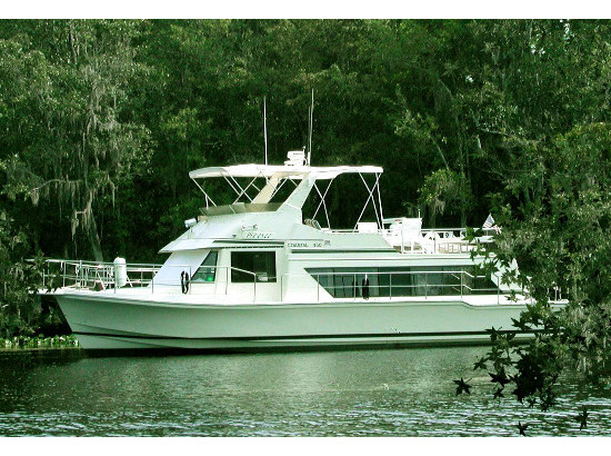 Check out this 1989 HARBOR MASTER 450 Coastal Cruiser on Boattrader com