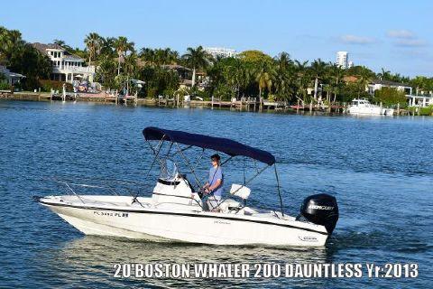 2013 Boston Whaler 200 Dauntless