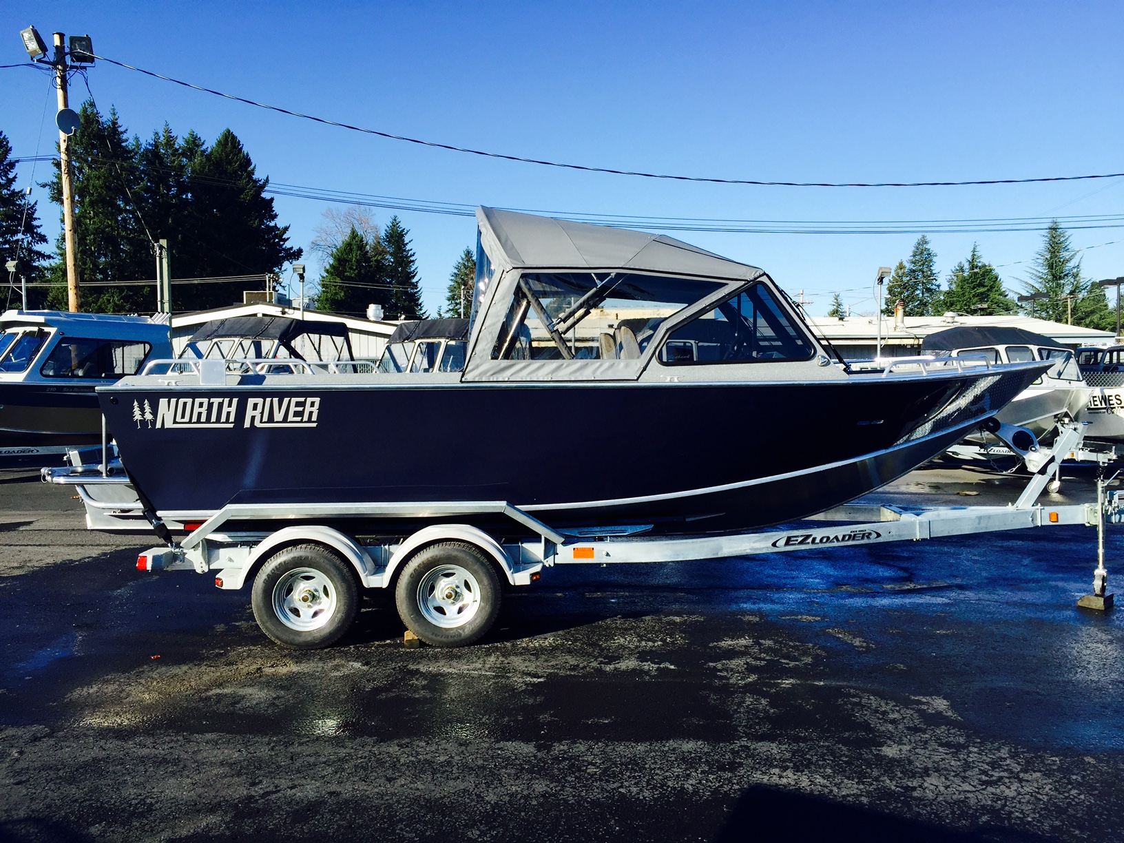 2016 North River 21 Seahawk 23 Foot 2016 Boat In