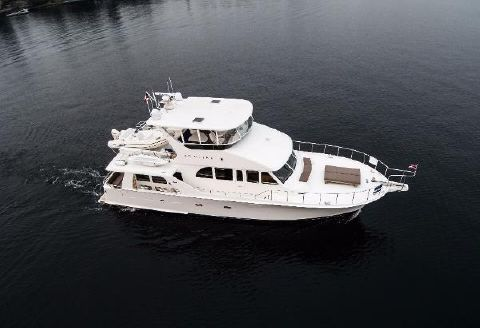 2002 Cheoy Lee 65 Pilothouse Drone exterior picture