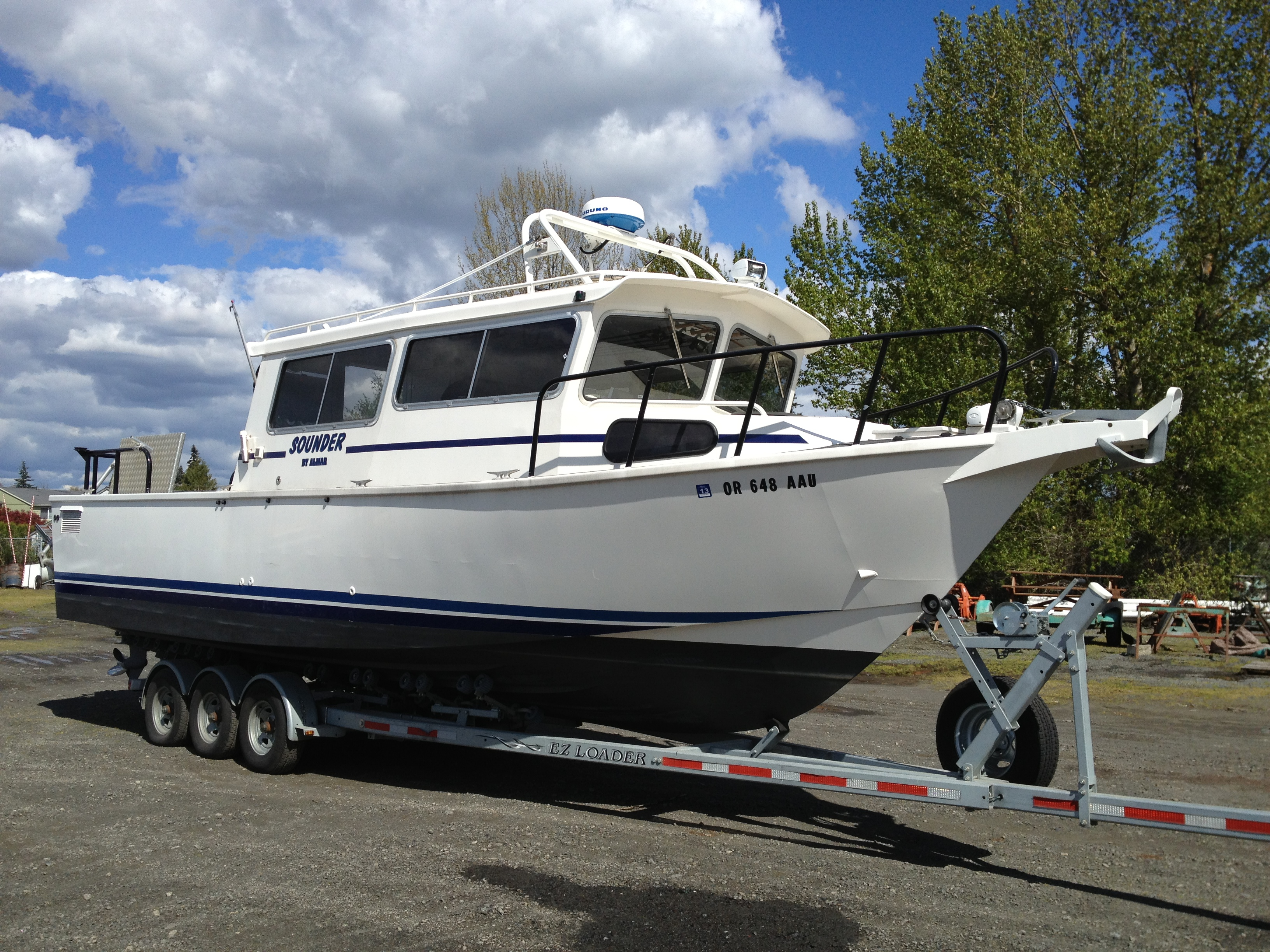 Used Fishing Boats For Sale >> Used 2002 Almar Sounder Cuddy Molalla Or 97038 Boat Trader
