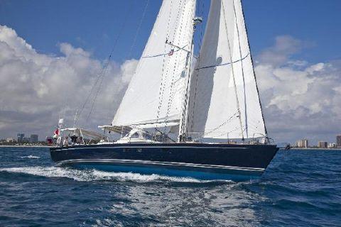 2007 CNB Yachts Bleu d'Aquitaine CNB 71 under sail