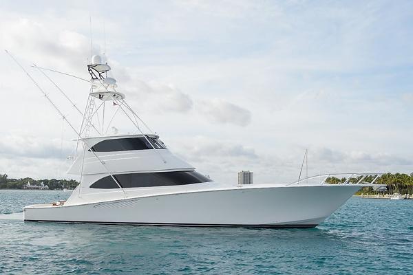 2014 Viking Yachts Enclosed