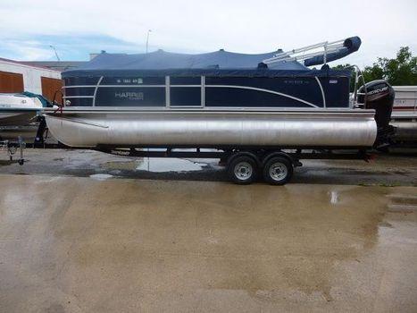 2013 Harris Flotebote Sunliner 220