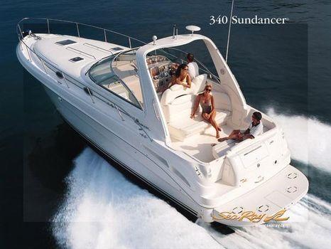2002 Sea Ray 340 Sundancer Manufacturer Provided Image