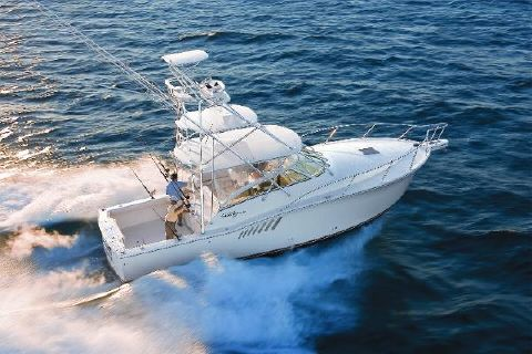 2009 Albemarle 360 Express Fisherman Albemarle 360XF Sistership Running