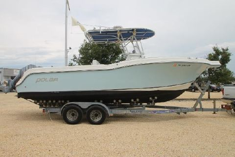2005 Polar Boats 2700 Center Console Stbd on trailer