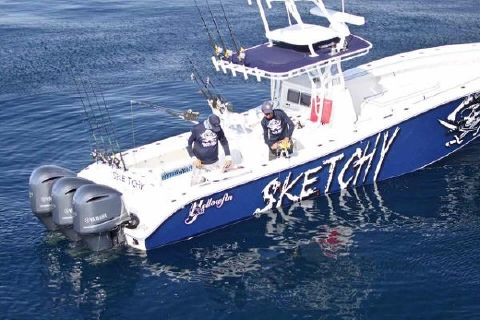 2003 Yellowfin 36 CC with Tower
