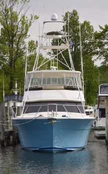 1990 Viking 57 Convertible Profile