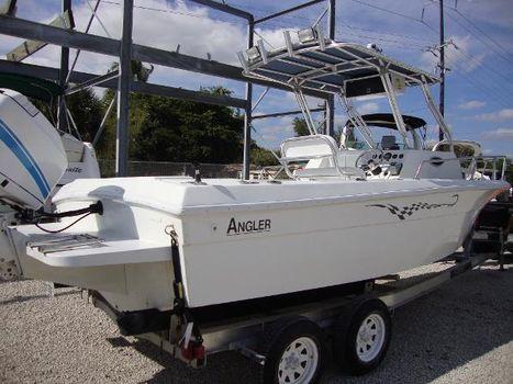 1984 Angler 2200 Walkaround