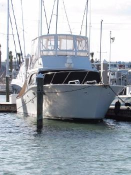 1977 Post 42 Sport Fisherman Bow To